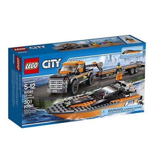 レゴ シティ 6100289 LEGO City Great Vehicles 4x4 with Powerboatレゴ シティ 6100289