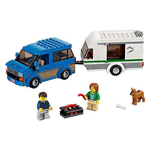レゴ シティ 6137153 LEGO City Great Vehicles Van & Caravan 60117 Building Toyレゴ シティ 6137153