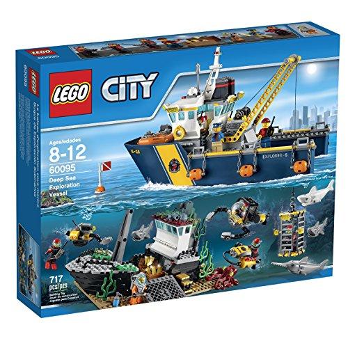 レゴ シティ 6100336 【送料無料】LEGO City Deep Sea Explorers 60095 Exploration Vessel Building Kitレゴ シティ 6100336
