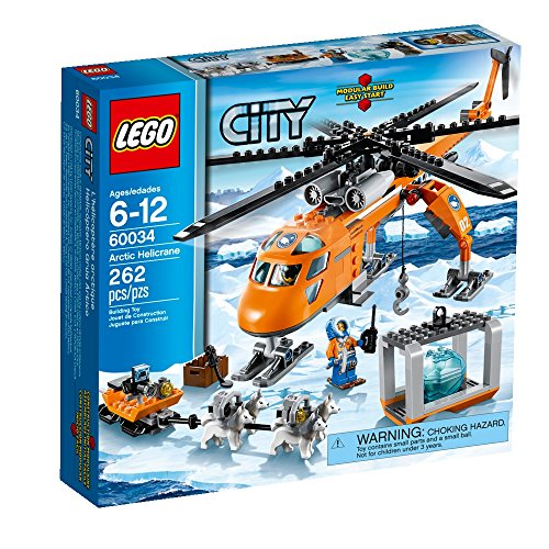 レゴ シティ 60034 LEGO City Arctic Helicrane 60034 Building Toy (Discontinued by manufacturer)レゴ シティ 60034