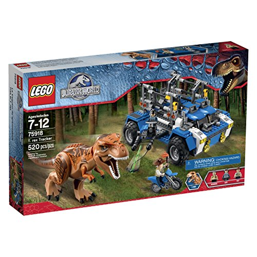 レゴ 6103349 【送料無料】Lego Jurassic World T. Rex Tracker 75918 Building Kitレゴ 6103349