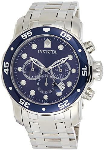 インヴィクタ インビクタ プロダイバー 腕時計 メンズ 0070 【送料無料】Invicta Men's 0070 Pro Diver Collection Analog Chinese Quartz Chronograh Silver-Tone/Blue Stainless Steel Watchインヴィクタ インビクタ プロダイバー 腕時計 メンズ 0070