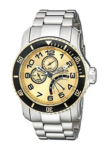 腕時計 インヴィクタ インビクタ プロダイバー メンズ 15337 【送料無料】Invicta Men's 15337 Pro Diver Gold Dial Stainless Steel Watch腕時計 インヴィクタ インビクタ プロダイバー メンズ 15337