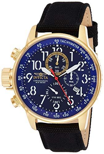 インヴィクタ インビクタ フォース 腕時計 メンズ 1516 【送料無料】Invicta Men's 1516 I Force Collection 18k Gold Ion-Plated Stainless Steel and Cloth Watchインヴィクタ インビクタ フォース 腕時計 メンズ 1516