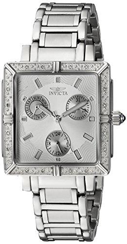 インヴィクタ インビクタ エンジェル 腕時計 レディース INVICTA-5377 Invicta Women's 5377 Square Angel Diamond Stainless Steel Chronograph Watchインヴィクタ インビクタ エンジェル 腕時計 レディース INVICTA-5377