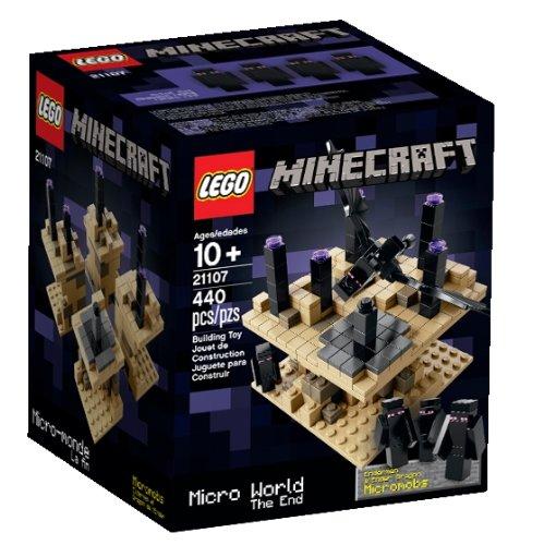 レゴ マインクラフト 6083793 【送料無料】LEGO Minecraft Micro World - The End 21107 (Discontinued by manufacturer)レゴ マインクラフト 6083793