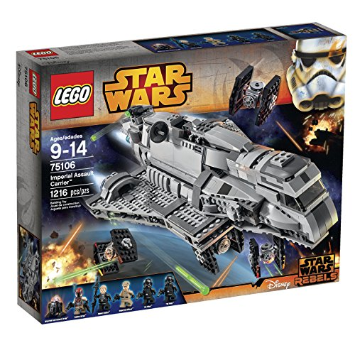 レゴ スターウォーズ 6103853 LEGO Star Wars Imperial Assault Carrier 75106 Building Kitレゴ スターウォーズ 6103853