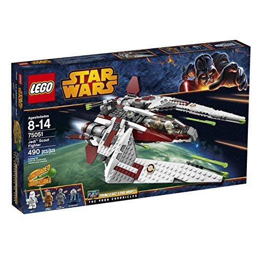 レゴ スターウォーズ 75051 【送料無料】LEGO Star Wars 75051 Jedi Scout Fighter Building Toy (Discontinued by manufacturer)レゴ スターウォーズ 75051