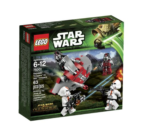 レゴ スターウォーズ 6025107 LEGO Star Wars Republic Troopers vs Sith Troopers 75001レゴ スターウォーズ 6025107