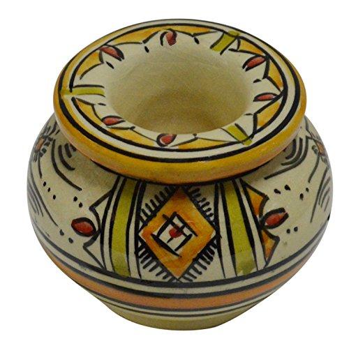 独特の素材 灰皿 海外モデル Berber アメリカ Colors 輸入物 輸入物 Small Berber beige Ceramic Ashtrays Hand Made Moroccan smokeless Ceramic Vivid Colors Beige Multicolored灰皿 海外モデル アメリカ 輸入物 Small Berber beige, 北海道物産展の「北の森ガーデン」:908c60ab --- clftranspo.dominiotemporario.com