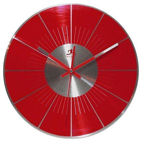 壁掛け時計 インテリア インテリア 海外モデル アメリカ Infinity Instruments Red L.P. 12 Metal Wall Clock by Infinity Instruments壁掛け時計 インテリア インテリア 海外モデル アメリカ