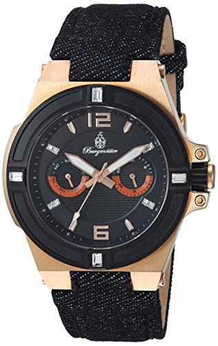 ブルゲルマイスター ドイツ高級腕時計 レディース BM220-922 Burgmeister Women's BM220-922 Analog Display Quartz Black Watchブルゲルマイスター ドイツ高級腕時計 レディース BM220-922