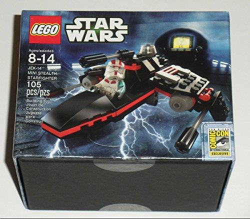 レゴ スターウォーズ 2013 SDCC Exclusive Lego Star Wars JEK-14 Mini Stealth Starfighterレゴ スターウォーズ