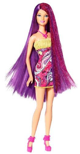 バービー バービー人形 日本未発売 W3212 Barbie - Hairtastic Salon Doll - Purple Hairバービー バービー人形 日本未発売 W3212