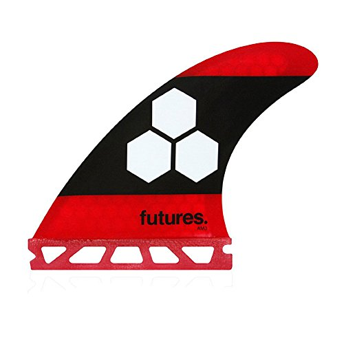 サーフィン フィン マリンスポーツ Future Fins Al Merrick AM3 FAM3 Red / Black Surfboard Thruster Fin Set Honeycomb Hexcoreサーフィン フィン マリンスポーツ
