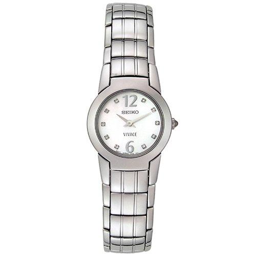 セイコー 腕時計 レディース SUJ281 【送料無料】Seiko Women's SUJ281 Vivace Diamond Accented Watchセイコー 腕時計 レディース SUJ281