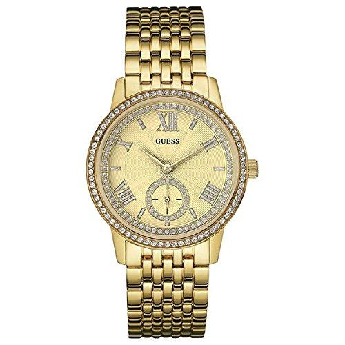ゲス GUESS 腕時計 レディース W0573L2 【送料無料】GUESS W0573L2,Ladies Dress Elegant,Gold Tone With Crystals,WRゲス GUESS 腕時計 レディース W0573L2