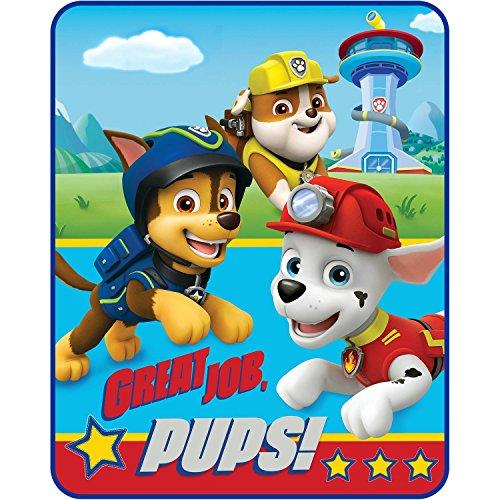 パウパトロール アメリカ直輸入 英語 バイリンガル育児 おもちゃ Paw Patrol Throw Blanket Style, Red & Blueパウパトロール アメリカ直輸入 英語 バイリンガル育児 おもちゃ