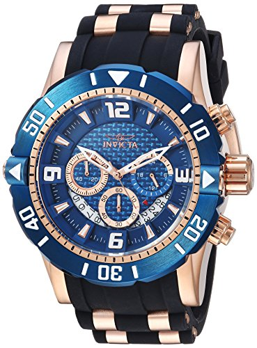 インヴィクタ インビクタ プロダイバー 腕時計 メンズ 23713 【送料無料】Invicta Men's Pro Diver Stainless Steel Quartz Diving Watch with Polyurethane Strap, Two Tone, 24 (Model: 23713)インヴィクタ インビクタ プロダイバー 腕時計 メンズ 23713