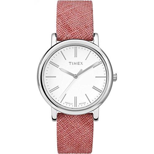 タイメックス 腕時計 レディース TW2P63600 Timex Women's Originals Linen | Pink Fabric Strap Minimal Dial | Watch TW2P63600タイメックス 腕時計 レディース TW2P63600
