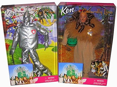 バービー バービー人形 ケン Ken Ken Tin Man & Cowardly Lion: Set of 2