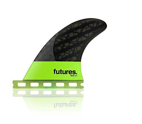 サーフィン フィン マリンスポーツ 【送料無料】Futures Fins Blackstix QD2 Quad Rears Surfboard Fins - 4.0サーフィン フィン マリンスポーツ