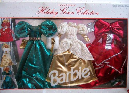 バービー バービー人形 着せ替え 衣装 ドレス 697 Barbie Holiday Gown Collection Limited Edition Fashions - Easy To Dress (1992 Arcotoys, Mattel)バービー バービー人形 着せ替え 衣装 ドレス 697