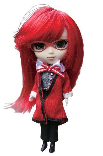 プーリップドール 人形 ドール DP-426 Docolla Pullip Doll Black Butler Grell Pullip Figure Dollプーリップドール 人形 ドール DP-426
