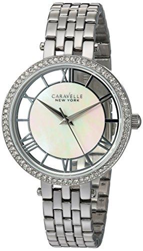 ブローバ 腕時計 レディース 43L183 Bulova Women's Quartz Watch with Stainless-Steel Strap, Silver, 14 (Model: 43L183)ブローバ 腕時計 レディース 43L183