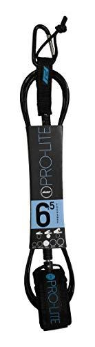 サーフィン リーシュコード マリンスポーツ Pro-Lite Surfboard Leash - Freesurf Size 6'5 (Black)サーフィン リーシュコード マリンスポーツ