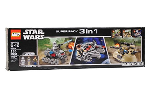 レゴ スターウォーズ LEGO Star Wars Super Pack 3 in 1 66514レゴ スターウォーズ