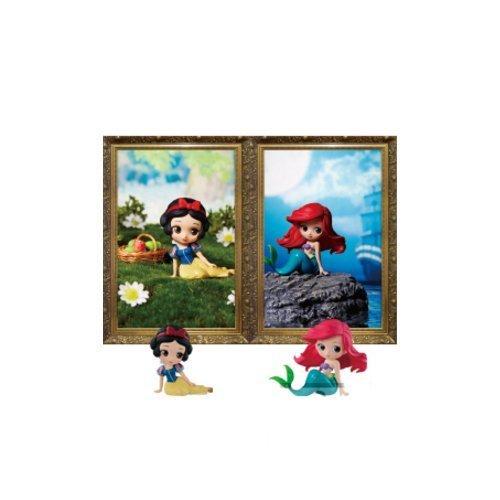 白雪姫 スノーホワイト ディズニープリンセス Q posket Disney Characters petit vol.4 - Ariel & Snow White - 2 Pack set白雪姫 スノーホワイト ディズニープリンセス