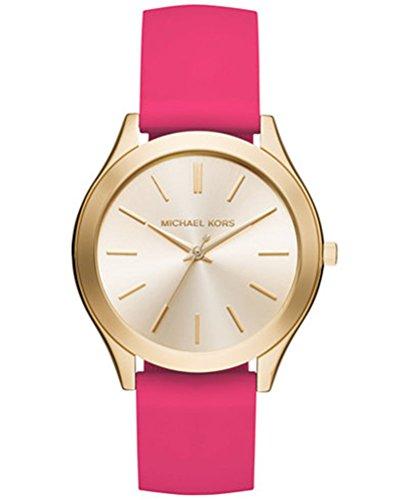 マイケルコース 腕時計 レディース マイケル・コース アメリカ直輸入 【送料無料】Michael Kors Women's Slim Runway Sporty Pink Silicone Strap Watch MK2510マイケルコース 腕時計 レディース マイケル・コース アメリカ直輸入