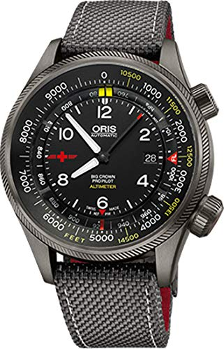 オリス 腕時計 メンズ Oris Big Crown ProPilot Altimeter Rega Limited Edition Men's Watch 73377054234FSオリス 腕時計 メンズ
