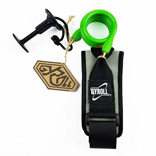 サーフィン リーシュコード マリンスポーツ Gyroll Mike Stewart Bicep Leash - Lime Greenサーフィン リーシュコード マリンスポーツ