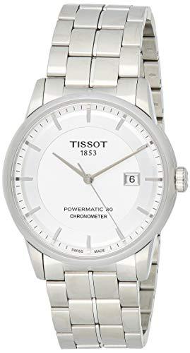 ティソ 腕時計 メンズ T0864081103100 【送料無料】Tissot Luxury Automatic Silver Dial Stainless Steel Men's Watch T0864081103100ティソ 腕時計 メンズ T0864081103100