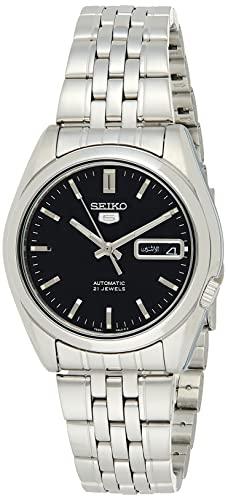 セイコー 腕時計 メンズ SNK361 【送料無料】Seiko Men's SNK361 Stainless Steel Analog with Black Dial Watchセイコー 腕時計 メンズ SNK361