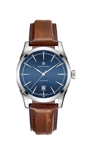 腕時計 ハミルトン メンズ H42415541 【送料無料】Hamilton Spirit of Liberty Auto 42mm Blue Dial Mens Watch H42415541腕時計 ハミルトン メンズ H42415541