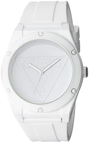 ゲス GUESS 腕時計 レディース U0979L1 【送料無料】GUESS Iconic White Retro Pop Logo Stain Resistant Silicone Watch. Color: White (Model: U0979L1)ゲス GUESS 腕時計 レディース U0979L1