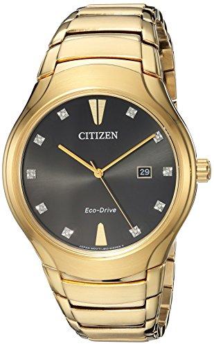 シチズン 逆輸入 海外モデル 海外限定 アメリカ直輸入 AW1552-54E 【送料無料】Citizen Men's Eco-Drive Diamond Accented Watch with Date, AW1552-54Eシチズン 逆輸入 海外モデル 海外限定 アメリカ直輸入 AW1552-54E