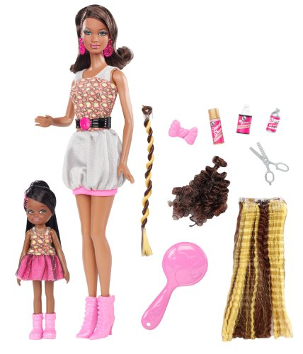 バービー バービー人形 日本未発売 プレイセット アクセサリ V7120 Barbie So In Style Locks Of Looks Grace And Courtney Dollsバービー バービー人形 日本未発売 プレイセット アクセサリ V7120