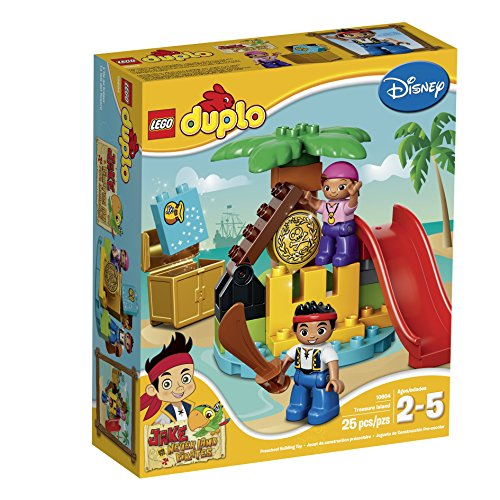 レゴ デュプロ 6101214 LEGO DUPLO Jake 10604 Jake and the Never Land Pirates Treasure Building Kitレゴ デュプロ 6101214