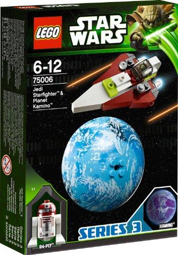 レゴ スターウォーズ 6025053 【送料無料】LEGO Star Wars Jedi Starfighter and Kamino (75006)レゴ スターウォーズ 6025053