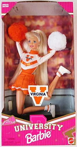 バービー バービー人形 大学 大学生 チアリーダー Barbie University Virginia Cheerleader Dollバービー バービー人形 大学 大学生 チアリーダー
