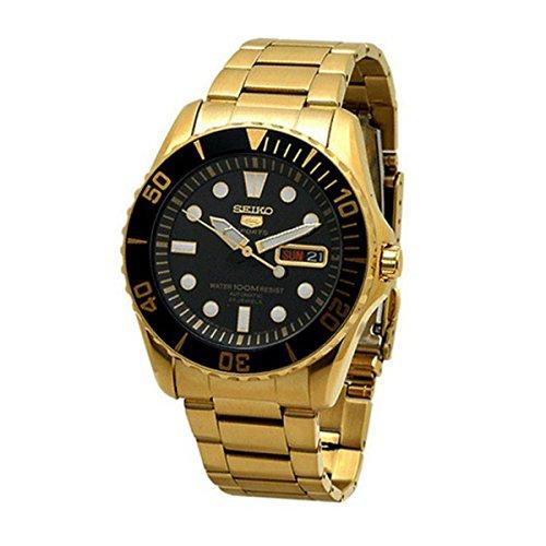 セイコー 腕時計 メンズ SNZF22J1 【送料無料】Seiko 5 Sports Black Watch SNZF22J1セイコー 腕時計 メンズ SNZF22J1