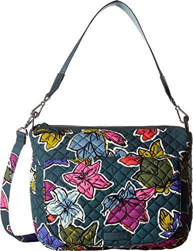 ヴェラブラッドリー ベラブラッドリー アメリカ フロリダ州マイアミ 日本未発売 【送料無料】Vera Bradley Women's Carson Shoulder Bag Falling Flowers Handbagヴェラブラッドリー ベラブラッドリー アメリカ フロリダ州マイアミ 日本未発売