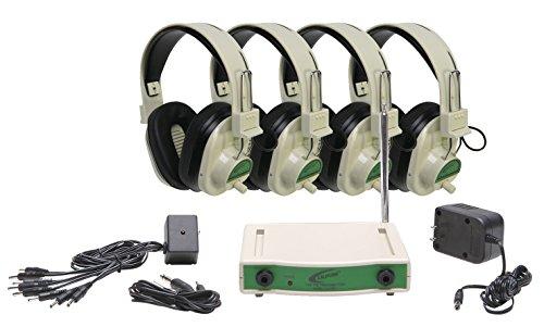 海外輸入ヘッドホン ヘッドフォン イヤホン 海外 輸入 CLS729-4 Califone CLS729-4 Wireless Listening Center, Four Person, Green海外輸入ヘッドホン ヘッドフォン イヤホン 海外 輸入 CLS729-4