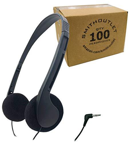 海外輸入ヘッドホン ヘッドフォン イヤホン 海外 輸入 ID08-100 SmithOutlet 100 Pack Low Cost Classroom/Library Headphones海外輸入ヘッドホン ヘッドフォン イヤホン 海外 輸入 ID08-100
