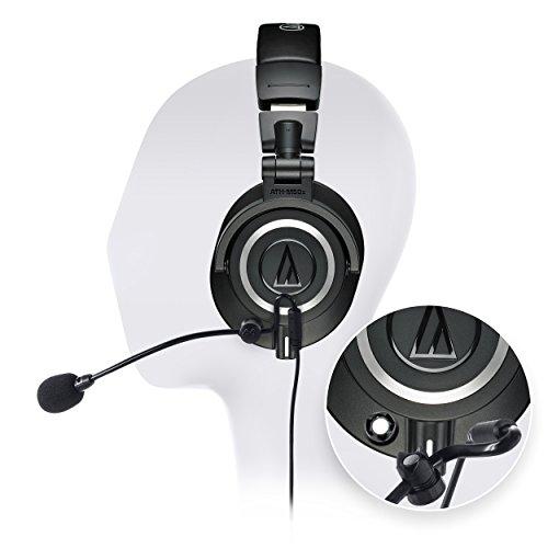 海外輸入ヘッドホン ヘッドフォン イヤホン 海外 輸入 6838661 Audio-Technica ATH-M50x Closed Back Dynamic Headphones Bundle with Antlion Audio ModMic 4 with Mute Switch, USB Audio Adapter, and Y海外輸入ヘッドホン ヘッドフォン イヤホン 海外 輸入 6838661