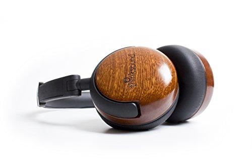 海外輸入ヘッドホン ヘッドフォン イヤホン 海外 輸入 On2-natblk thinksound On2 Wood on-Ear Monitor Headphone (Natural Black)海外輸入ヘッドホン ヘッドフォン イヤホン 海外 輸入 On2-natblk